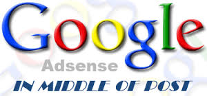 How to Add Adsense Ads In the Middle or Anywhere Inside The Blog