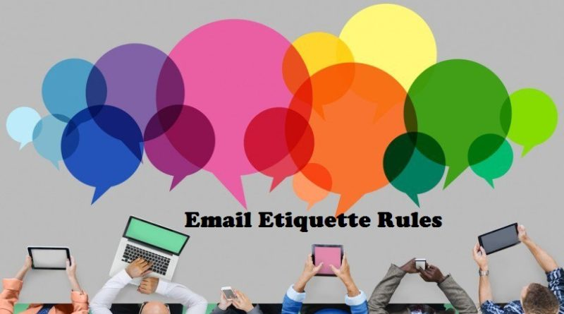 Email Etiquette Rules Everyone Should Know Colblog