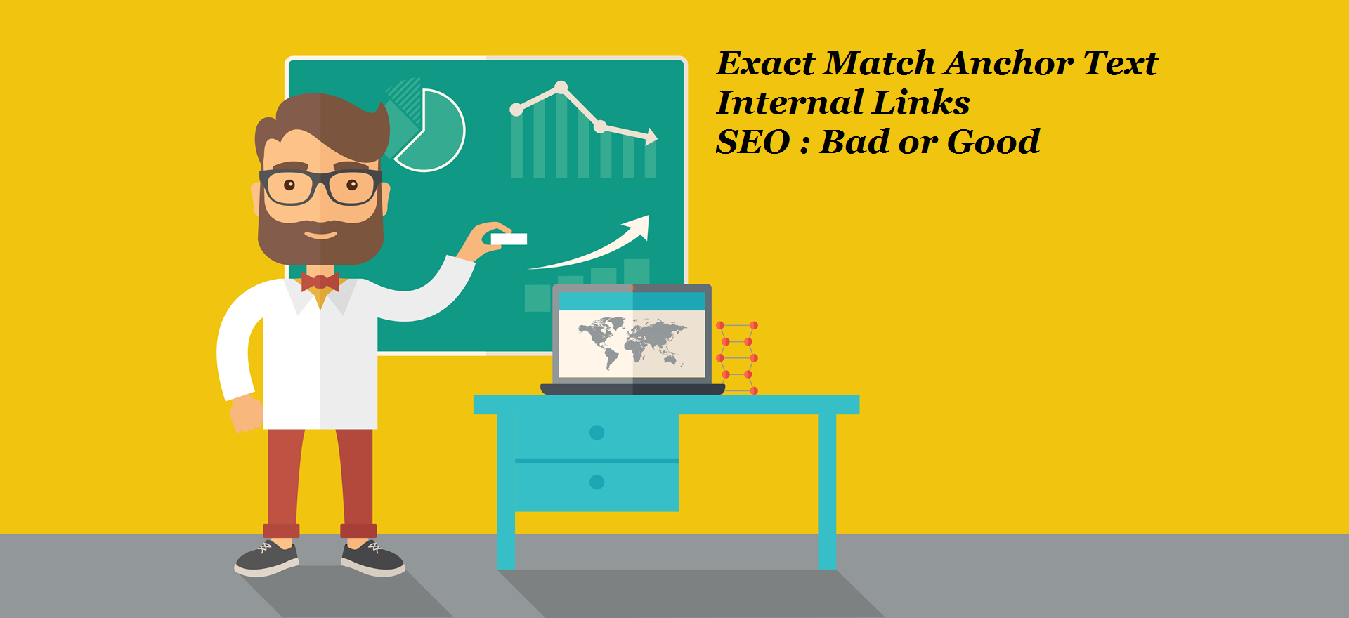 Exact Match Anchor Text Internal Links SEO : Bad or Good