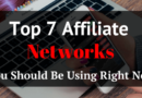 Top 7 Affiliate Networks You Should Be Using in 2017 And Beyond