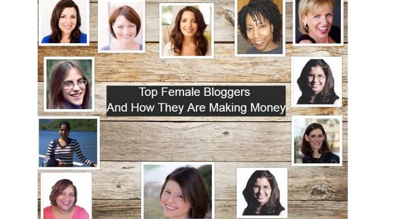 How These Top 10 Female Bloggers Are Making From Their Blogs