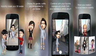 insta3d animated 3d avatar - Turn Your Selfie Into a Realistic 3D Avatar