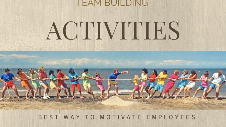 Team building activities for employees at work