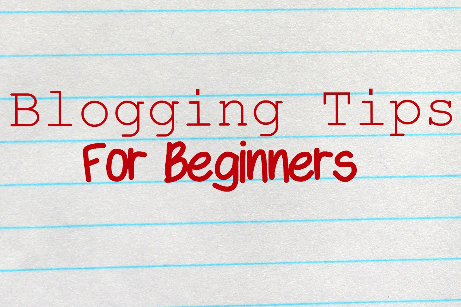 Blogging Ideas For Beginners