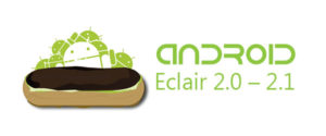 Eclair 300x125 - Android Versions and Names