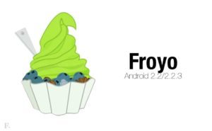 Froyo 300x185 - Android Versions and Names