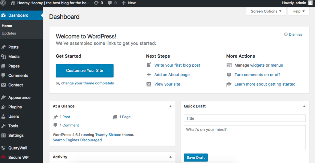 How to start a self hosted wordpress blog for free 19 1024x531 - Create a Free Self Hosted Wordpress Blog With Free Domain