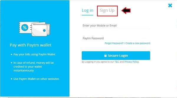 b194 - How To Create A PayTM Account