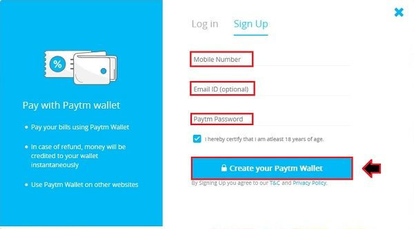 c194 - How To Create A PayTM Account