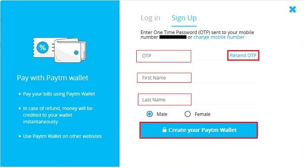 d194 - How To Create A PayTM Account