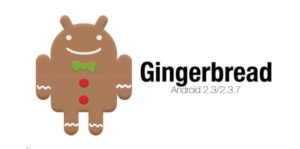 gingerbread 300x149 - Android Versions and Names