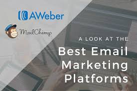 AWeber or Mail Chimp which one suits more for building the list
