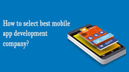 How to select best mobile app development company